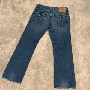 Men's Straight True Religion Jeans